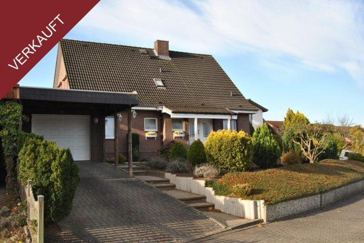 Auch für zwei Familien nutzbar – Einfamilienhaus in ruhiger Wohnlage.